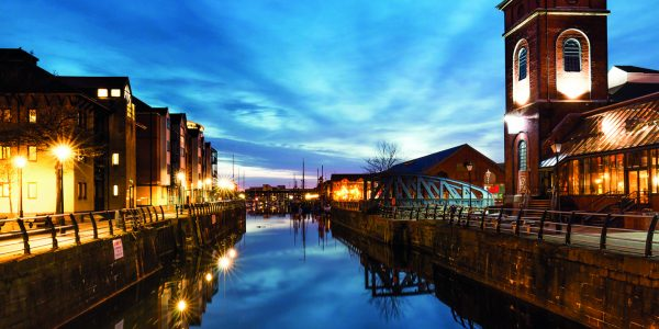 Swansea Marina is a marina located behind the Swansea barrage at the mouth of the River Tawe in Swansea, South Wales.